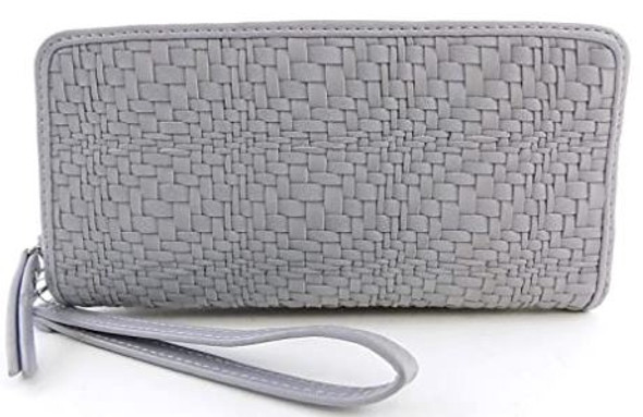 Purse Wallet Wristlet INC International Concepts Grey