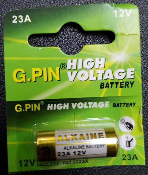 BATTERY G.PIN 12V 23A ALKAINE HIGH VOLTAGE