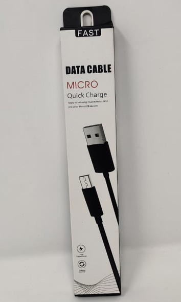 USB CABLE MICRO DATA QUICK CHARGE FAST MIX COLORS