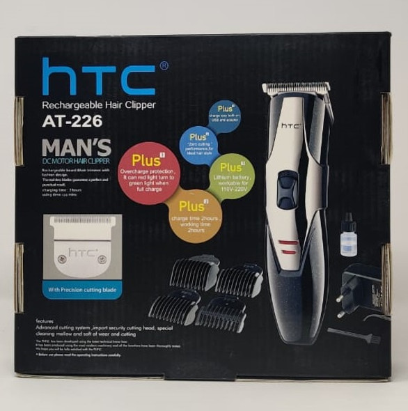 HAIR CUTTING KIT HTC AT-226 RECHARGEABLE CLIPPER