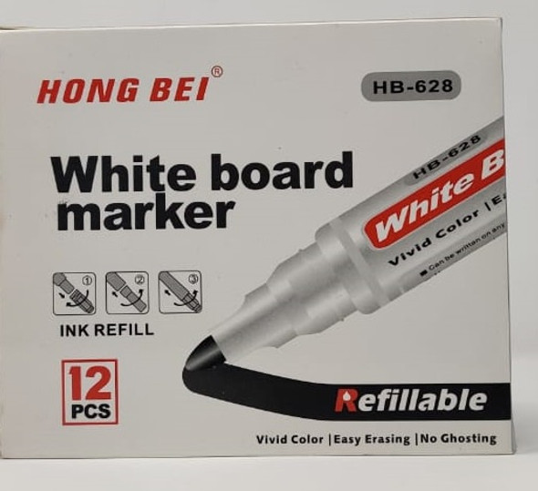 STATIONERY WHITEBOARD MARKER HONG BEI HB-628