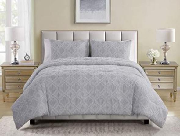 Comforter Set Tahari Sutter Collection Queen 3pcs ultra soft
