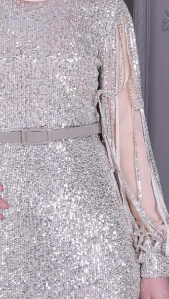 Dresss Burun Nude Sequin size 40
