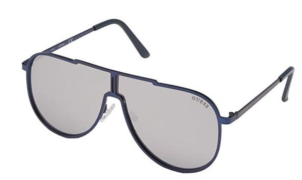 Sunglass Men GUESS GF0199 Blue Mirrored