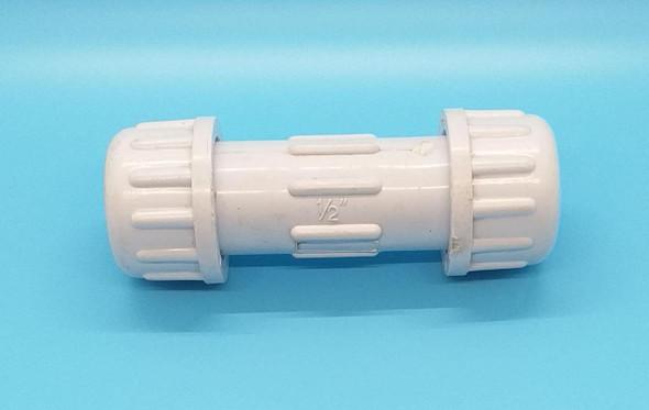 """PVC COMPRESSION VALVE 1/2"""" ASTM D2466"""