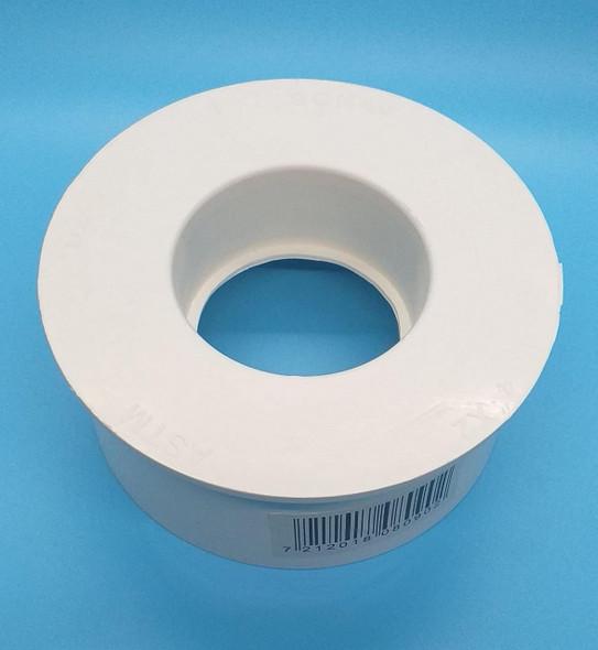 """PVC REDUCER 4""""-2"""" HEAVY SCH 40 SAM UK"""