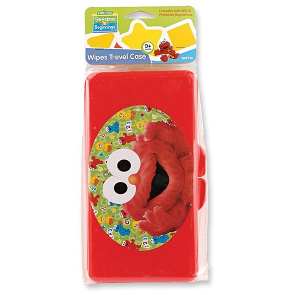 BABY PLASTIC WIPRE TRAVEL CASE SESAME STREET S9715