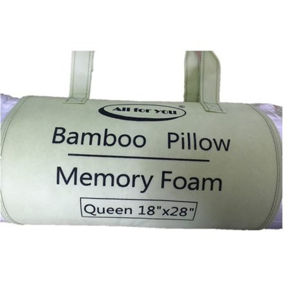 "Pillow Queen Bamboo Memory Foam All For You 18"" x 28"""