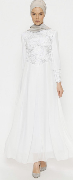 Dress Butik Nese White