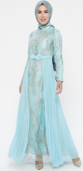 Dress Oz Duman Mint, gold