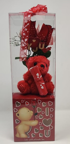 GIFT SET BEAR VALENTINE MS-17-89