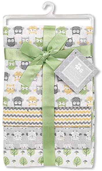 BABY RECEIVING BLANKETS CRIBMATES CM41299 4PCS SET