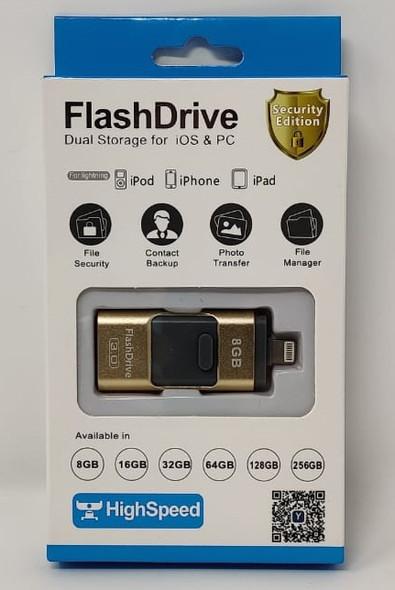 COMPUTER FLASH DRIVE 8GB USB 3.0 LIGHTNING