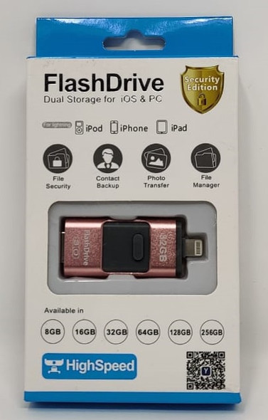 COMPUTER FLASH DRIVE 32GB USB 3.0 LIGHTNING