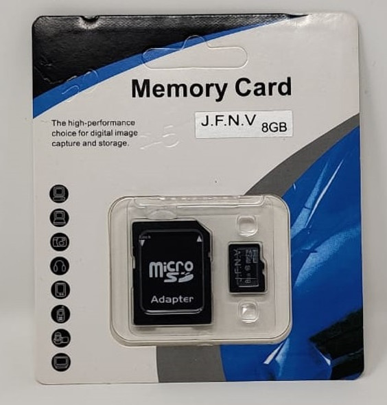 COMPUTER SD MICRO CARD 8GB WITH 1ADPTOR J.F.N.V