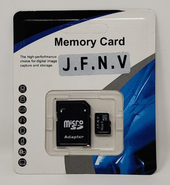 COMPUTER SD MICRO CARD 16GB WITH 1ADPTOR J.F.N.V