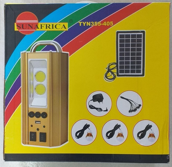 SOLAR LIGHTING SYS SUNAFRICA TYN355-405