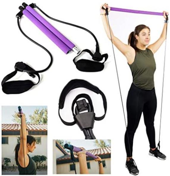 Pilates Bar Kit Victoria Graces Premium Adjustable