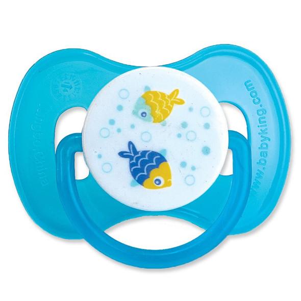 BABY PACIFIER PRINTED BABYKING BK37000 0+MONTHS BPA FREE