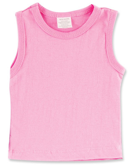 BABY SLEEVELESS SHIRT 100% COTTON BABYKING BK328 M SOLD EACH