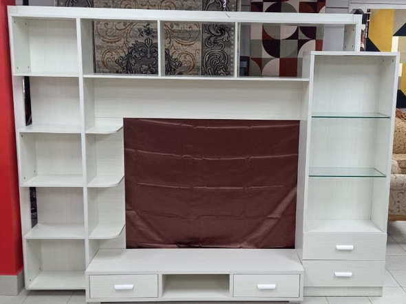 TV STAND WALL CABINET 6T06 WHITE ARK