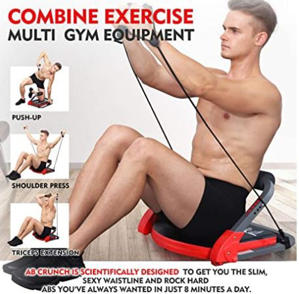 Ab Crunch Machine total body workout MBB Home Gym