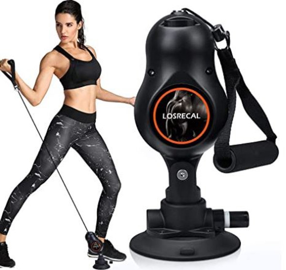 Pull Rope Resistance Machine Losrecal Home Gym workout 1pc