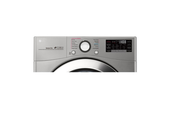 DRYER LG DLEX3700V ELECTRIC ENGLISH PANEL