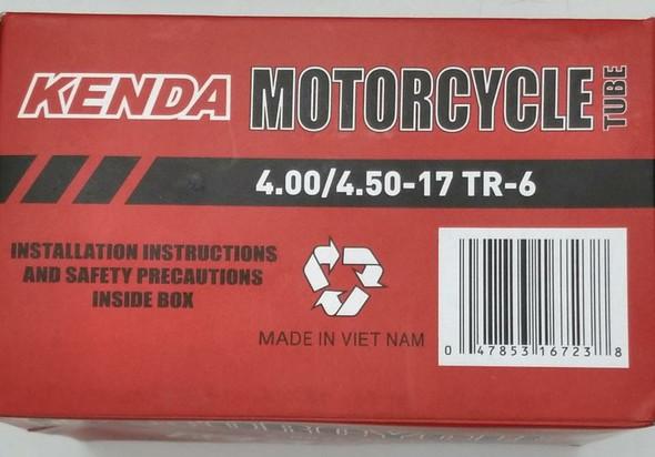 M/CYCLE TUBES 400/450 X 17 4.00/4.50-17 TR-6 KENDA
