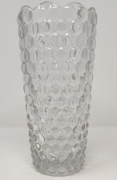 "VASE 10"" X 5"" GLASS-26 CLEAR 172501ZD"