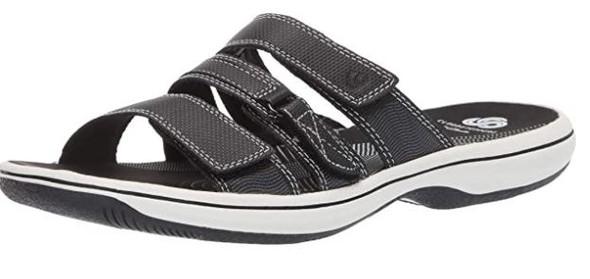 Footwear Clarks Women's Brinkley Coast Slide Sandal