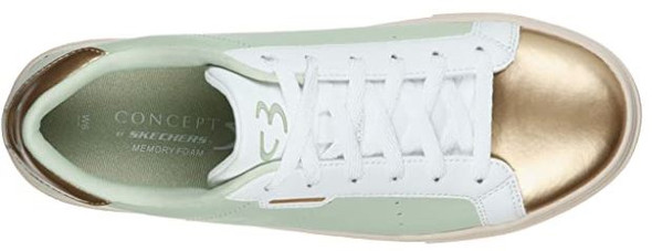Footwear Skechers Concept 3 Women's Sneaker Mint Lace up