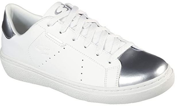 Footwear Skechers Concept 3 Women's Sneaker White & silver Lace up