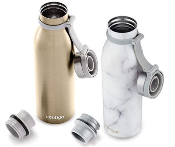 Water Bottle Contigo Couture Collection Stainless Steel 2 Pack 20 oz,