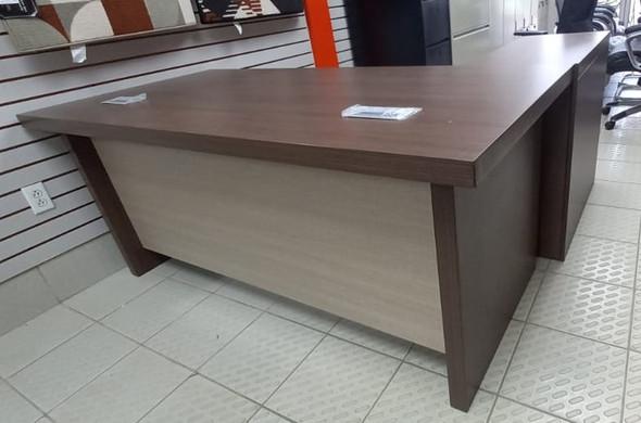 "OFFICE DESK TABLE SET YF007-180 1.8M 1800X850X760mm 71X33.5X30"" A B C & D"
