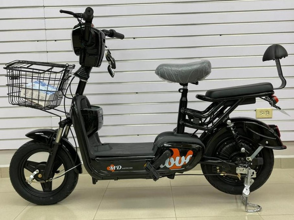 ELECTRIC BIKE MD LOVE SM-BLACK WITH ALARM AND CHARGER