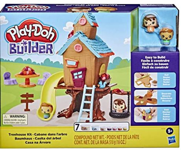 Toy Play-Doh Builder Treehouse Toy Building Kit