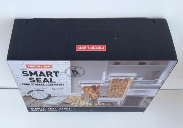 STORAGE CONTAINER NEOFLAM 5PCS 180126 SMART SEAL