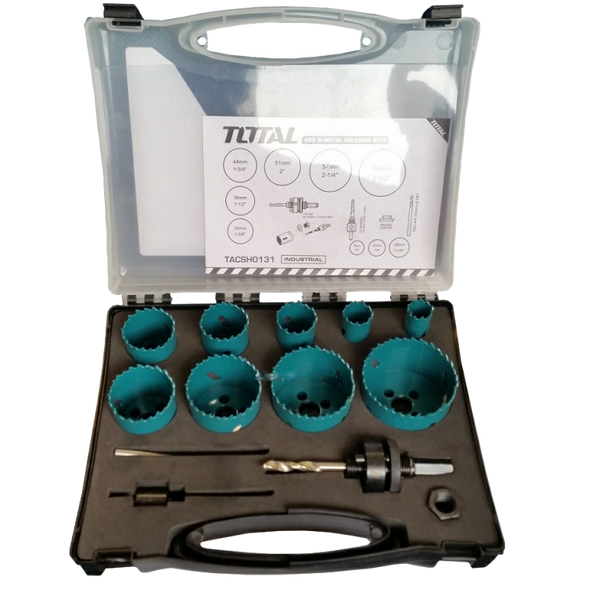 SAW HOLE SET TOTAL TACSH0131 13PCS HSS BI-MET