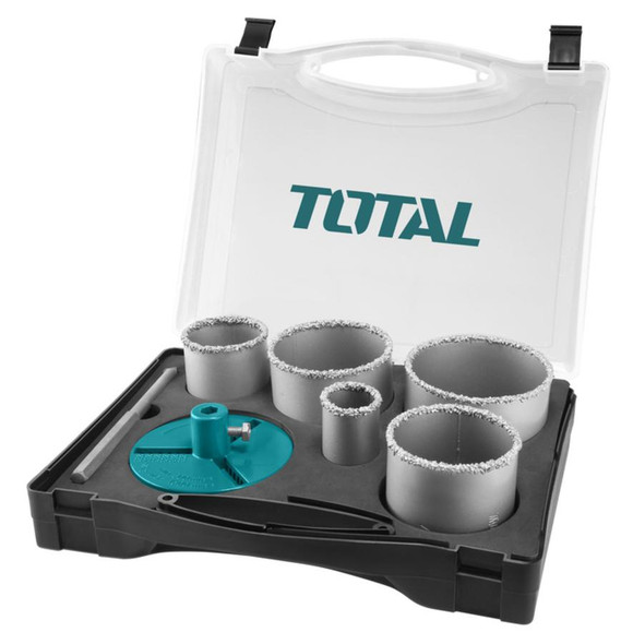 SAW HOLE SET TOTAL TACSH2071 7PCS CARBIDE GRITTED