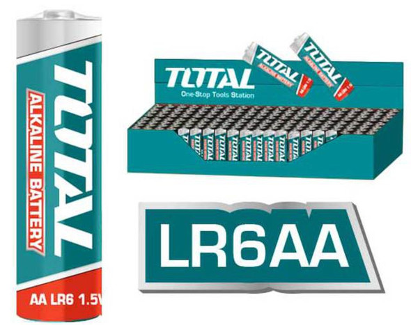 BATTERY TOTAL AA ALKALINE THAB2A01 4PCS PACK