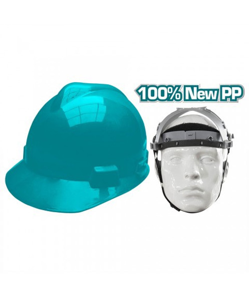 HELMET SAFETY TOTAL TSP2608 GREEN