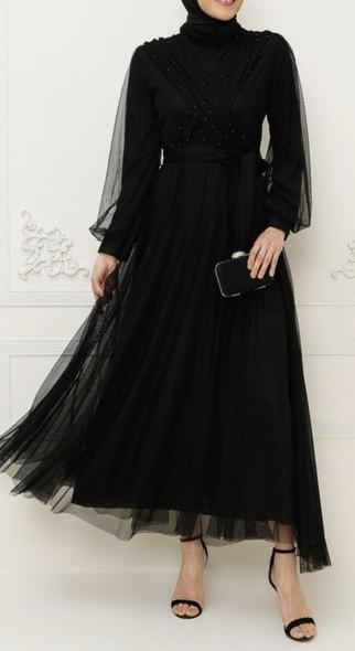 Dress Burun Black Tulle
