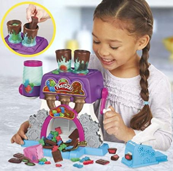 Toy Play-Doh Kitchen Creations Candy Delight Playset 5 Cans Non-Toxic