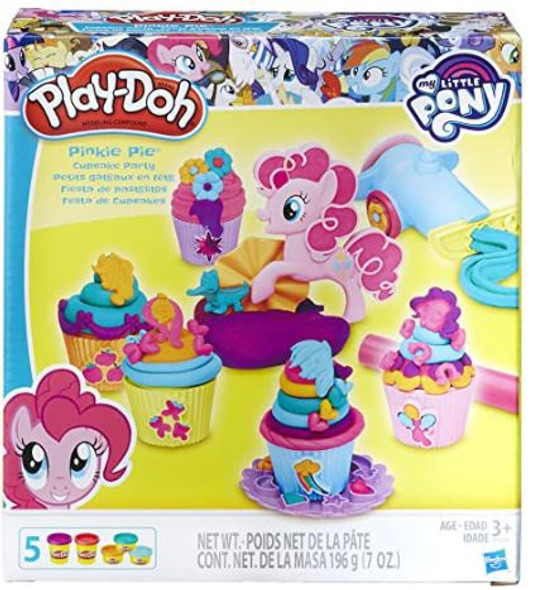 Toy Play-Doh My Little Pony Pinkie Pie Cupcake Party