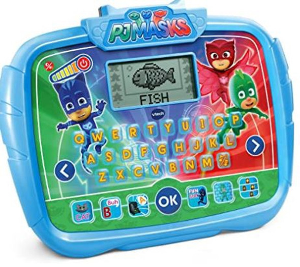 Toy VTech PJ Masks Time to Be A Hero Learning Tablet  Blue