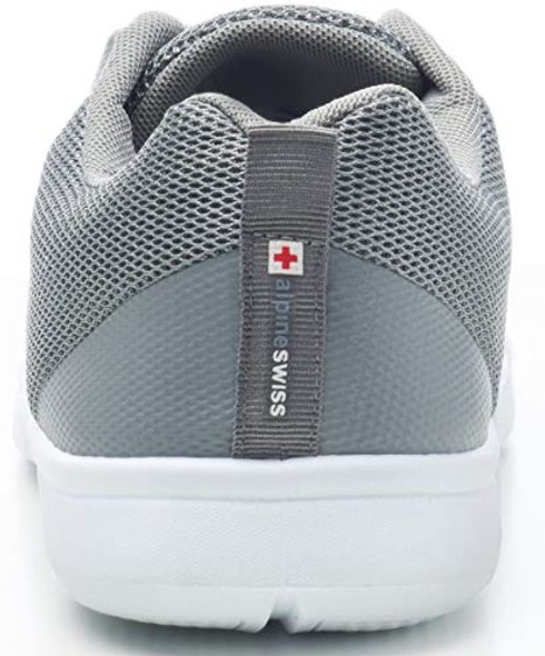 Footwear Alpine Swiss Men's Mesh Sneaker with Shoe Bag