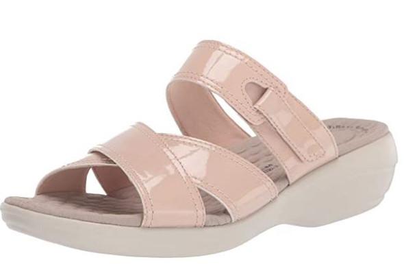 Footwear Clarks Women's Alexis Art Flat Sandal Blush