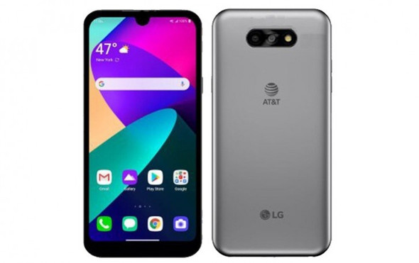 CELLPHONE LG PHOENIX 5 LM-K300AM 16GB SILVER