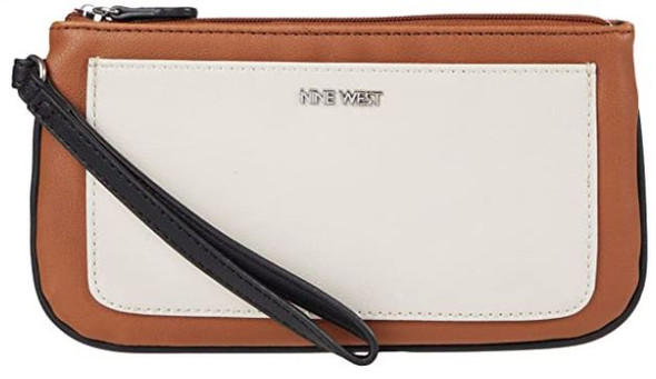 Bag Wristlet Nine West Malathi Caramel
